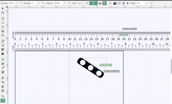 3D part design with Inkscape and Openscad part 4: Measurements and precision